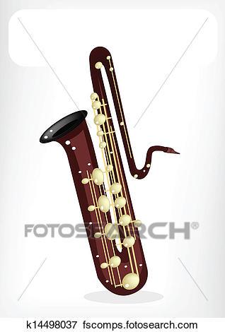 318x470 Clip Art Of Saxophone, Bass Saxophone, Alto Saxophone, Tenor