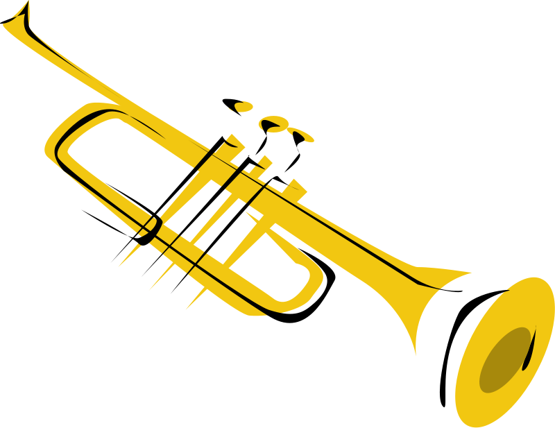 800x617 Saxophone Clipart Trumpet