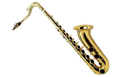 464x298 Saxophone Clipart Tenor Saxophone