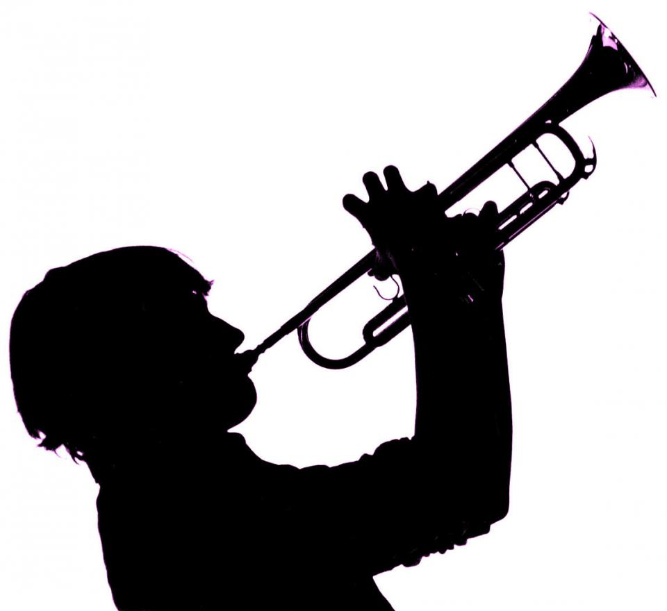 960x880 Saxophone Clipart Trumpet