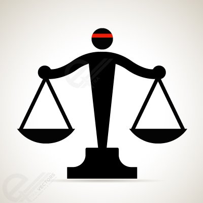 400x400 Justice Scale Clip Art, Vector Justice Scale
