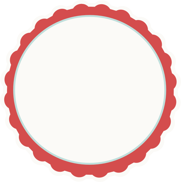 594x599 Red Circle Frame Clipart