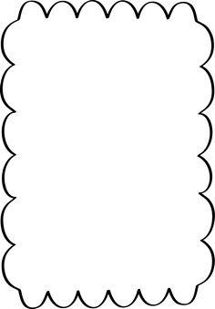 236x339 Squiggle Page Border Border Designs Clip Art