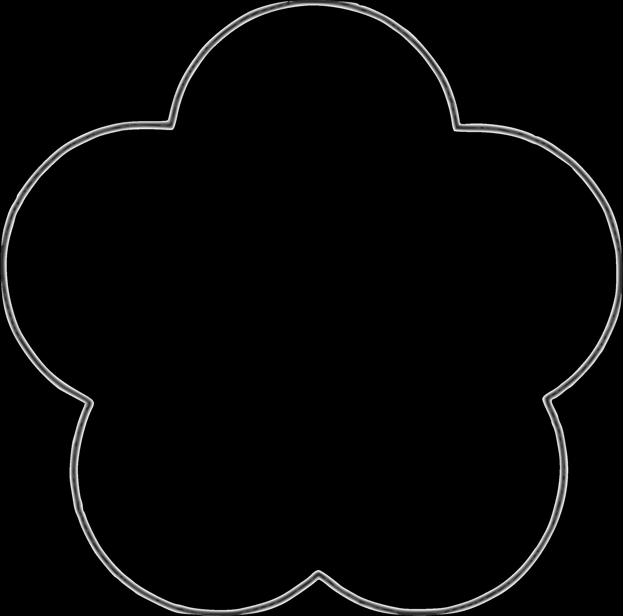 2400x2374 Circle Flower Clipart