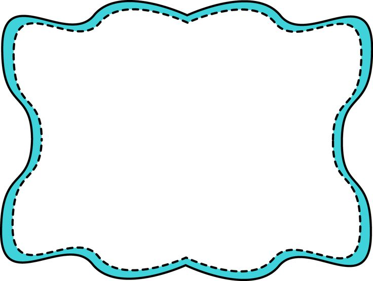 736x556 Scalloped Frame Clipart