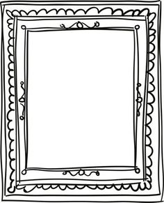 236x291 Free Clip Art Amp Brushes Digital Frames With Scalloped Borders