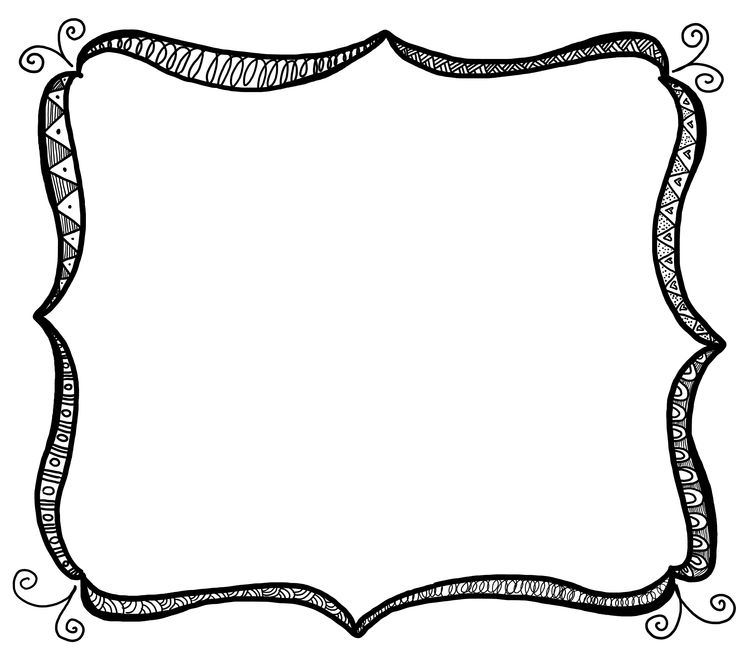 736x653 Picture Frame Clip Art Free Free Clipart Images