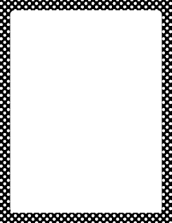 250x324 Black And Green Polka Scalloped Line Clipart Collection
