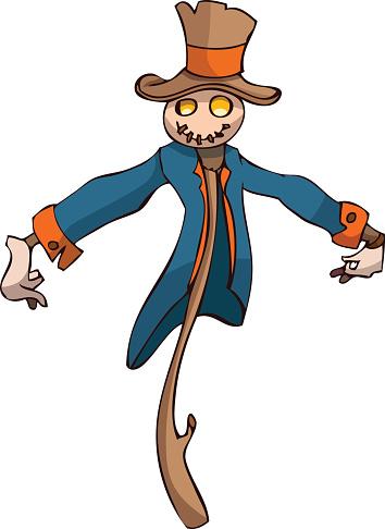 354x486 Scarecrow Clipart Scarecrow Clip Art Image 2