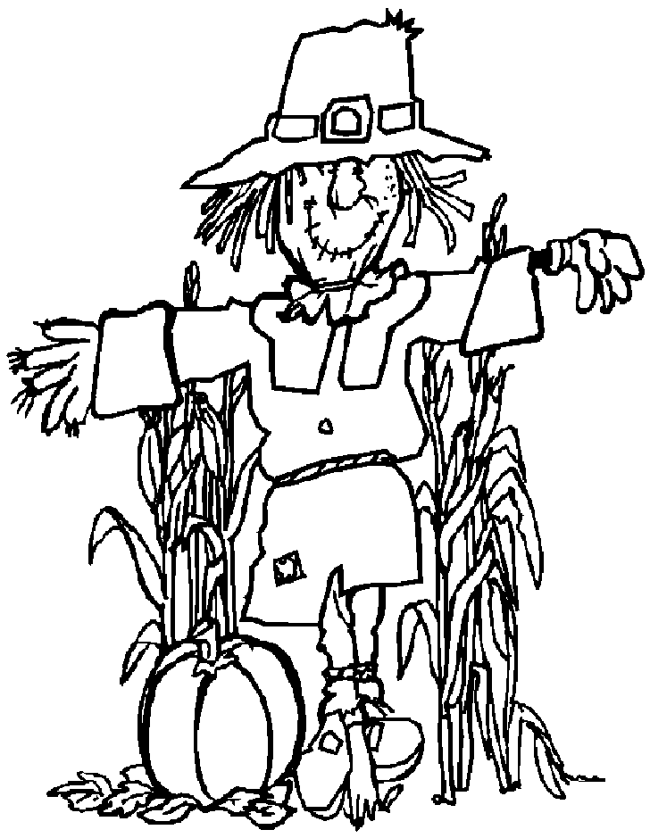 728x939 Free Scarecrow Coloring Pages Many Interesting Cliparts