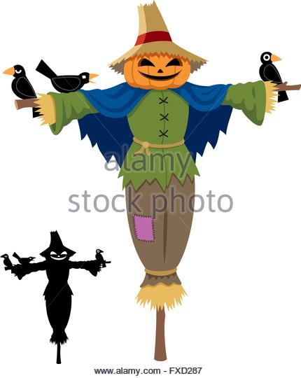 430x540 Scarecrow Pumpkin On Hay Stock Photos Amp Scarecrow Pumpkin On Hay
