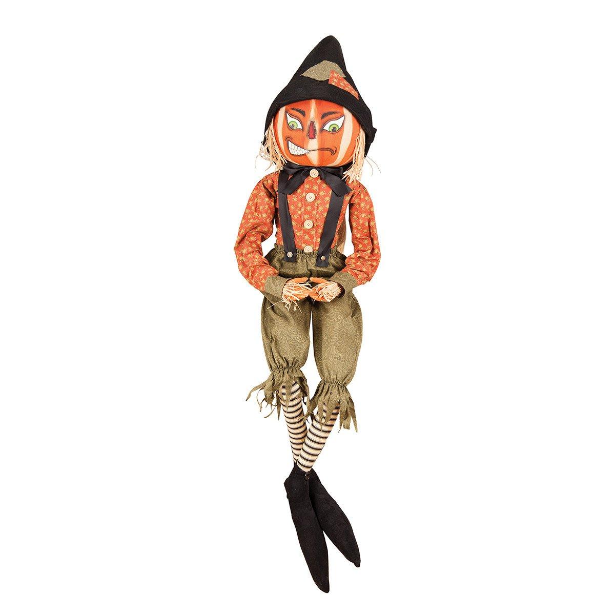 1200x1200 Joe Spencer Riley Scarecrow Pumpkin Head Cloth Halloween Doll