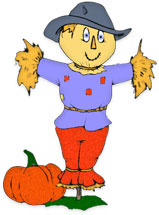 159x215 Scarecrow Clipart Friendly