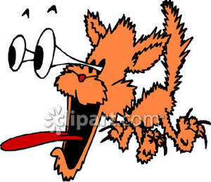 300x259 Cat Cartoon
