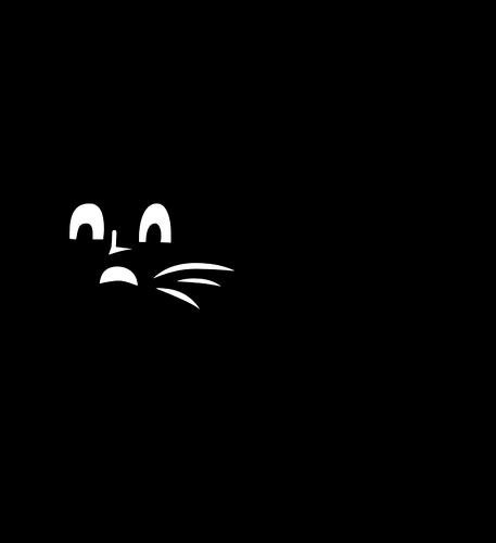 457x500 Scared Cat Public Domain Vectors