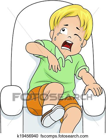 361x470 Clipart Of Scared Boy K19456940