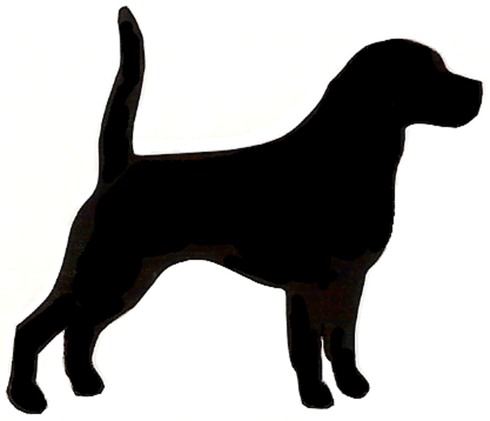 1000x859 Beagle Dog Silhouette Clip Art