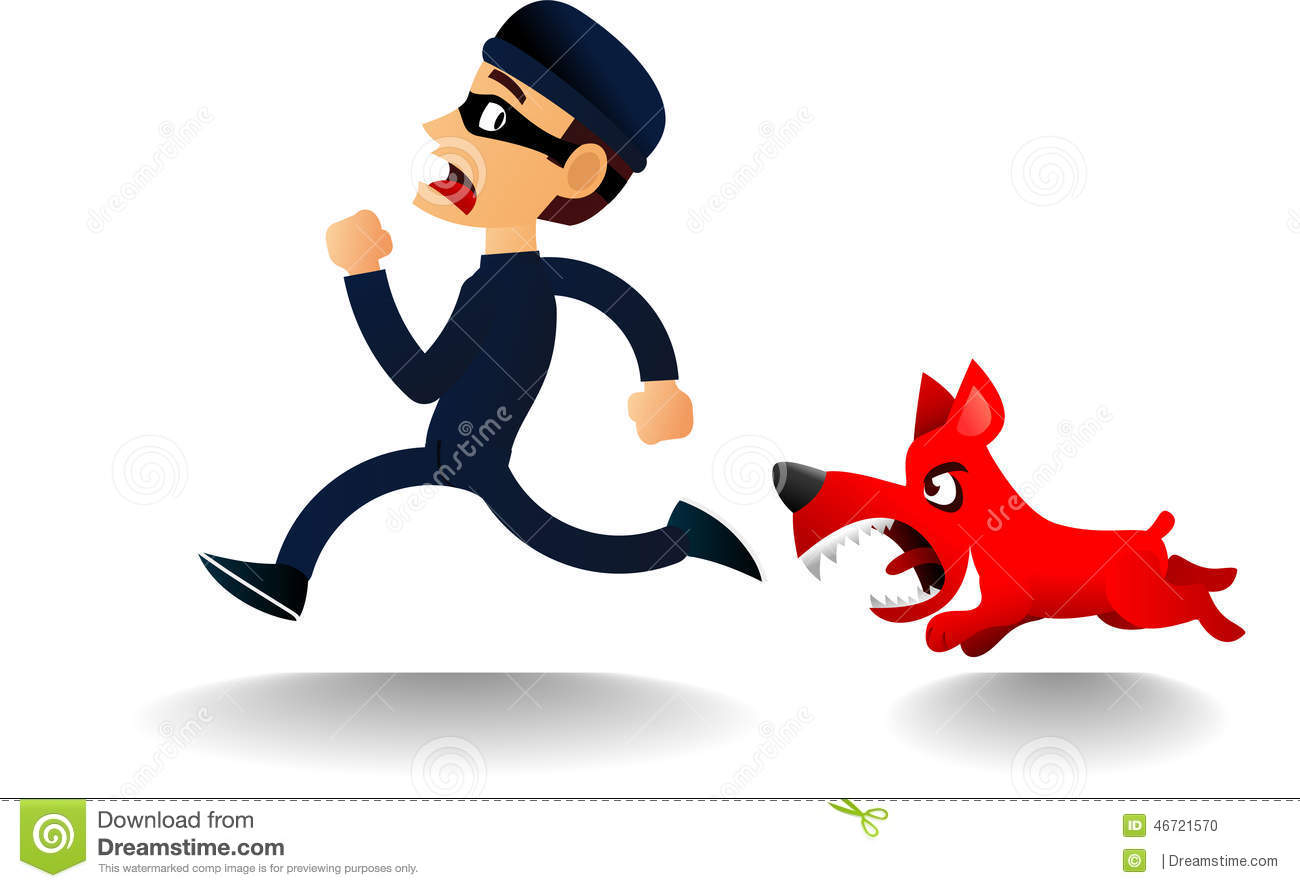1300x888 Chase The Police Dog Clipart