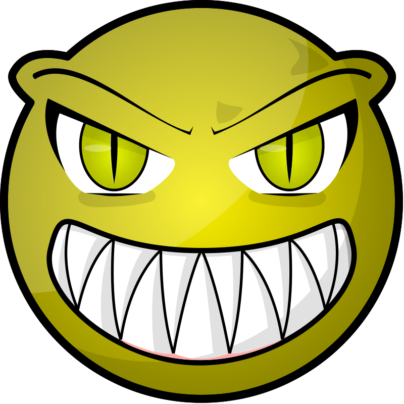 800x800 Face Clipart Scared