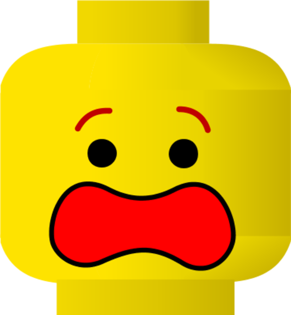600x651 Image Of Lego Clipart Scared Faces Clip Art