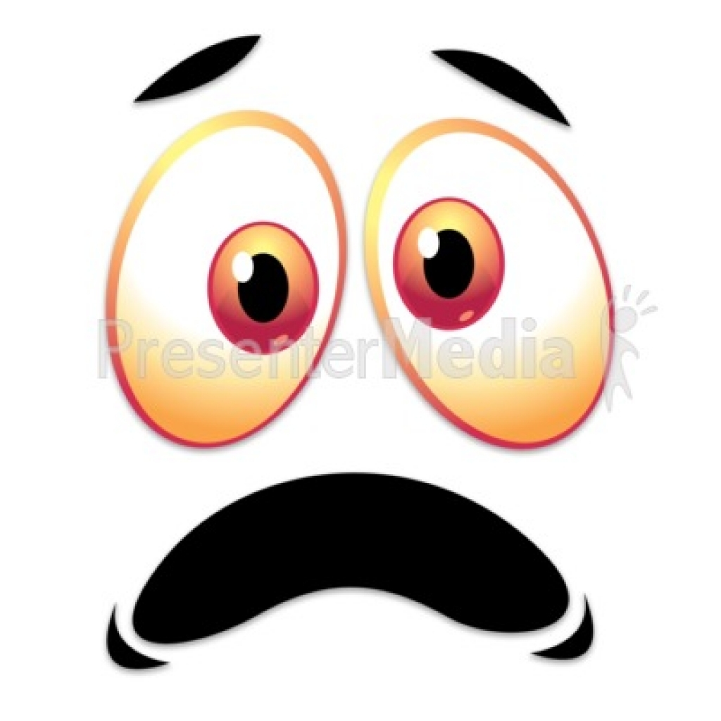 1024x1024 Scared Eyes Clipart Scared Eyes Clipart Crazy Scared Face