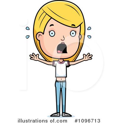 400x420 Teen Girl Clipart
