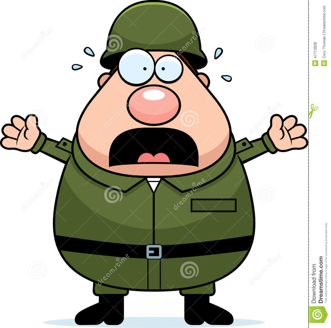 1310x1300 Army Clipart Scared