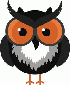 236x287 Scared Owl Clipart