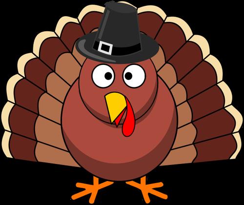 500x420 110 Microsoft Clipart Thanksgiving Turkey Public Domain Vectors