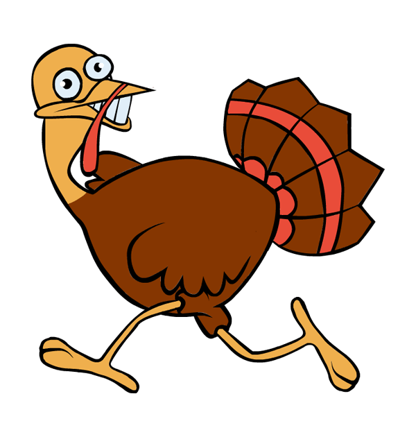 600x630 Graphics For Running Scared Turkey Graphics
