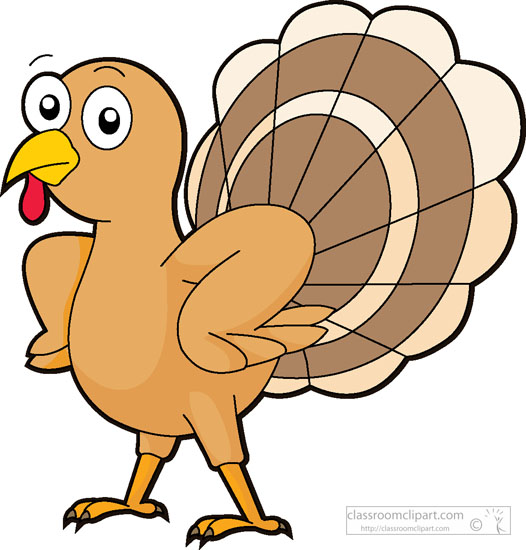 526x550 Turkey Clipart