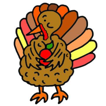 360x360 Thanksgiving Turkey Clip Art