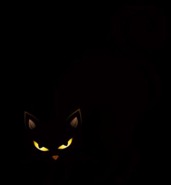 333x361 Cute Scary Black Cat Clipart Halloween Cat Clipart