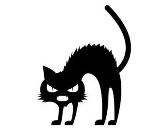 340x270 Scary Black Cat Etsy