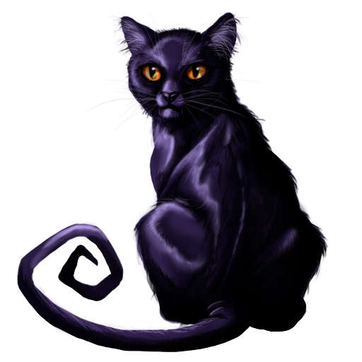 512x512 Halloween Scary Black Cat Png Image Royalty Free Stock Png