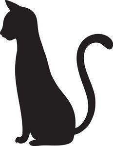 232x300 Best Black Cat Silhouette Ideas Cat Silhouette