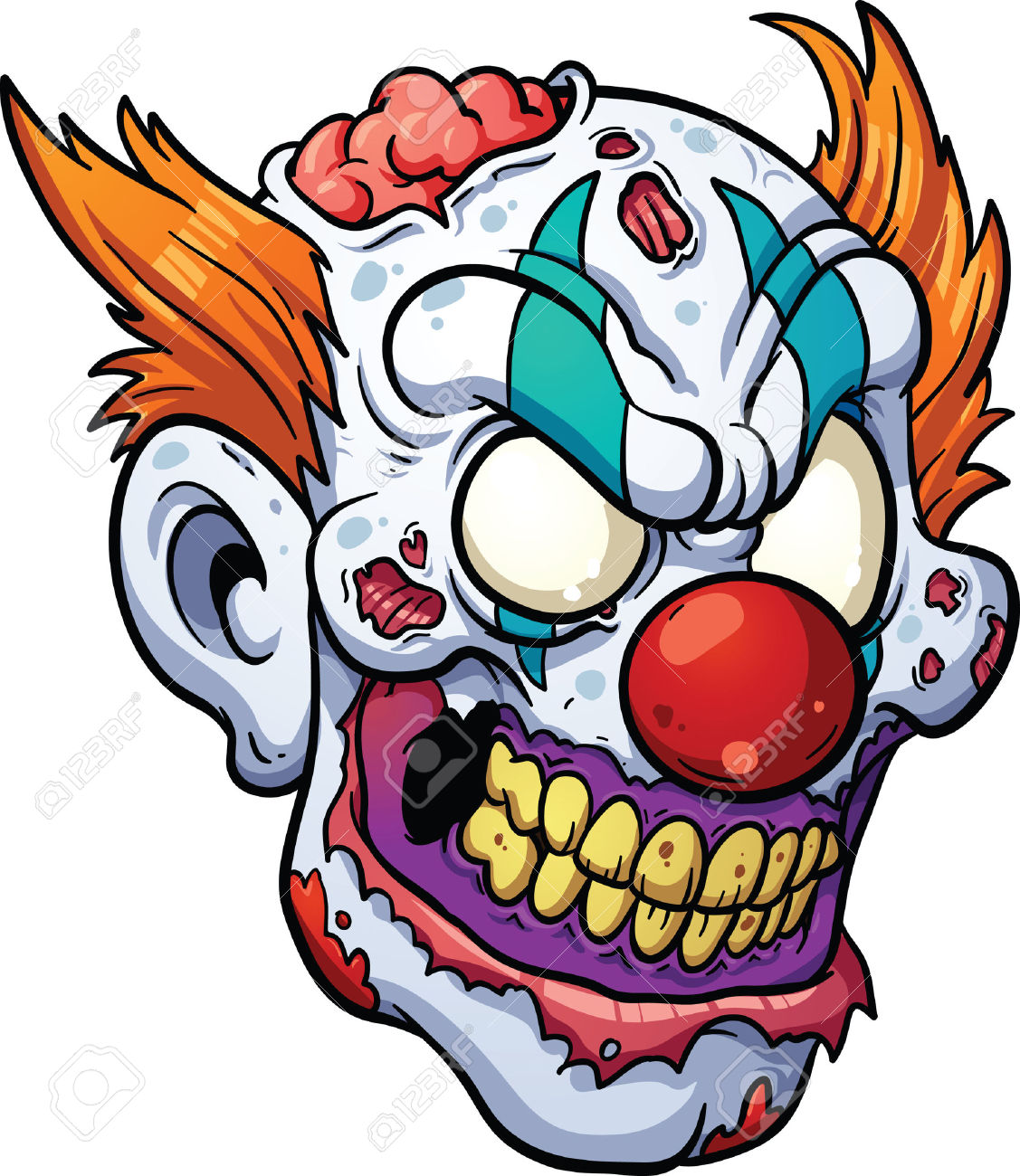 1127x1300 Scary Clown Clipart Amp Look At Scary Clown Clip Art Images