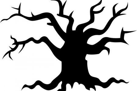 450x300 Scary Clipart Tree