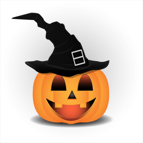 600x600 Halloween Pumpkin Clip Art