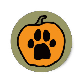 324x324 Scary Halloween Face Stickers Zazzle