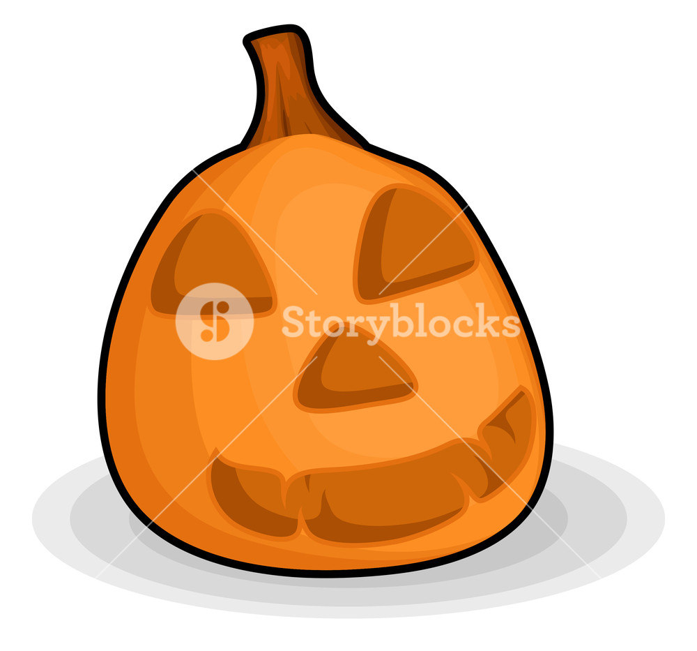 1000x933 Scary Halloween Pumpkin Royalty Free Stock Image