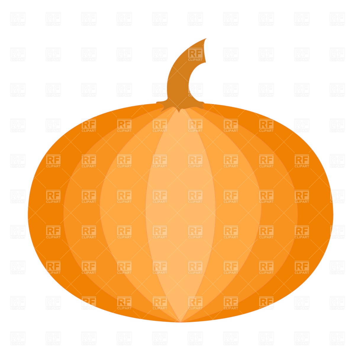 1200x1200 Scary Halloween Pumpkin Royalty Free Vector Clip Art Image
