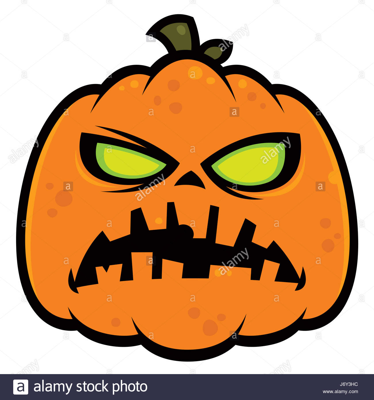1300x1390 Halloween Horror Pumpkin Zombie Holiday Illustration Scary