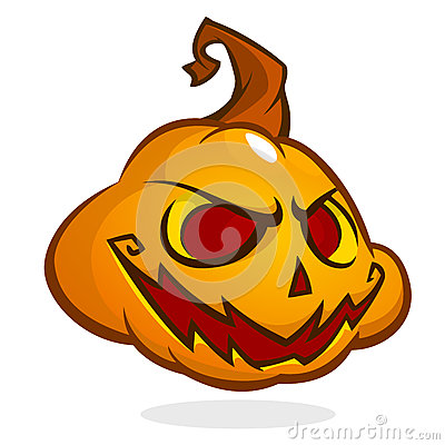 400x400 Scary Pumpkin Man Clipart