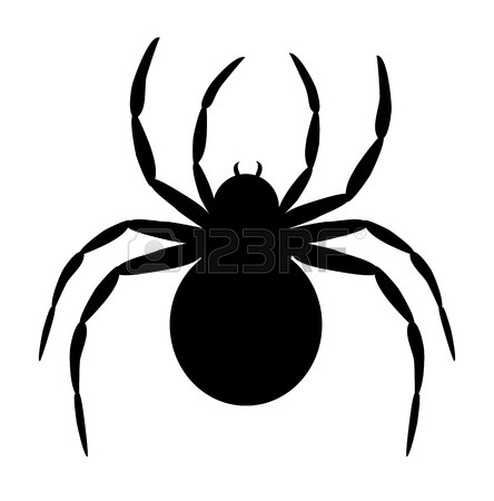 Scary Spider Cliparts