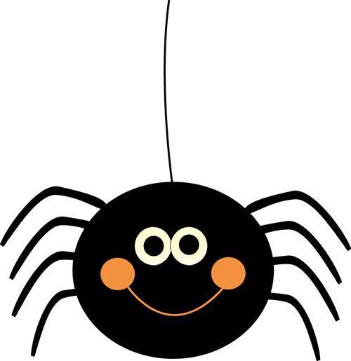 500x515 Fangs Clipart Halloween Spider