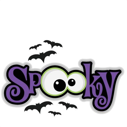 432x432 Scary Halloween Clip Art Pictures
