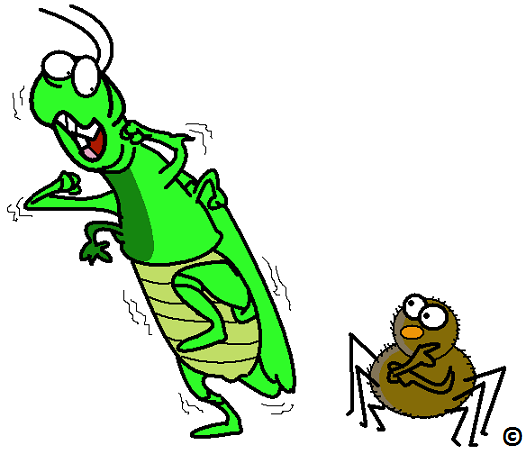 526x454 Scary Clipart Grasshopper
