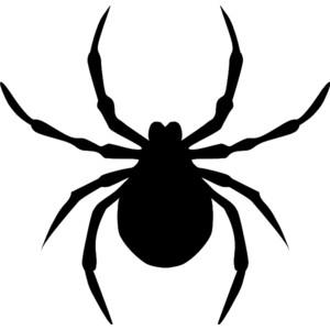 300x300 Spider Clip Art