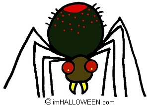 302x211 Spider Clipart Spooky